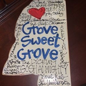 Other - Ole Miss wall art